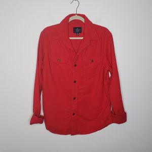 American Eagle Flannel Button Shirt